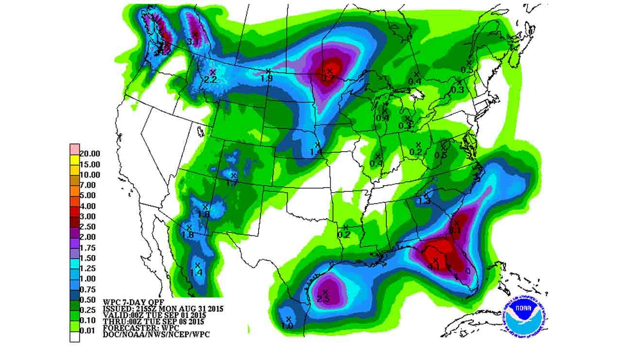 Dick Faurot's Weather Blog: Summer Is Over, Or Is It?