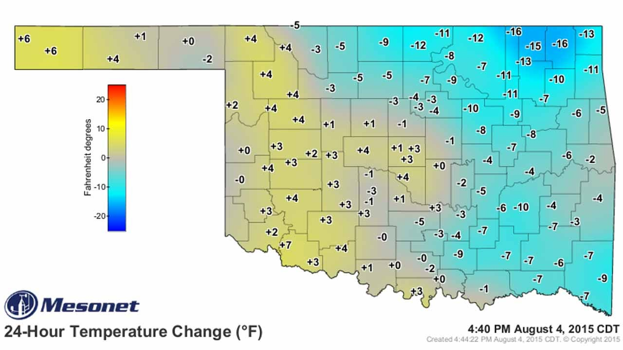 Dick Faurot's Weather Blog: Another Chance Of Rain Before Heat Returns