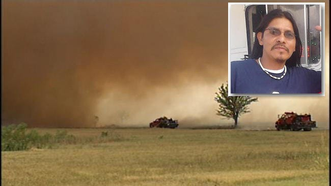 2012 Creek County Wildfires Suspect Still On The Run