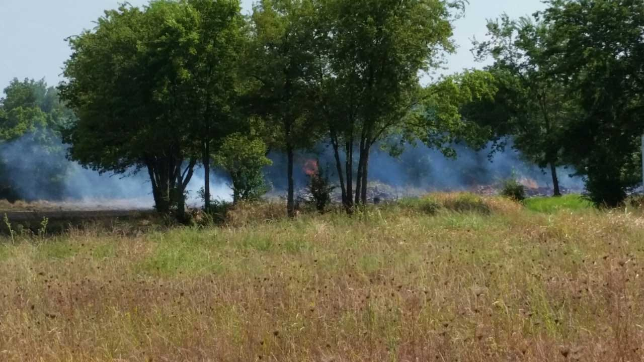 Tulsa Prescribed Burn Spreads; No Structures Affected