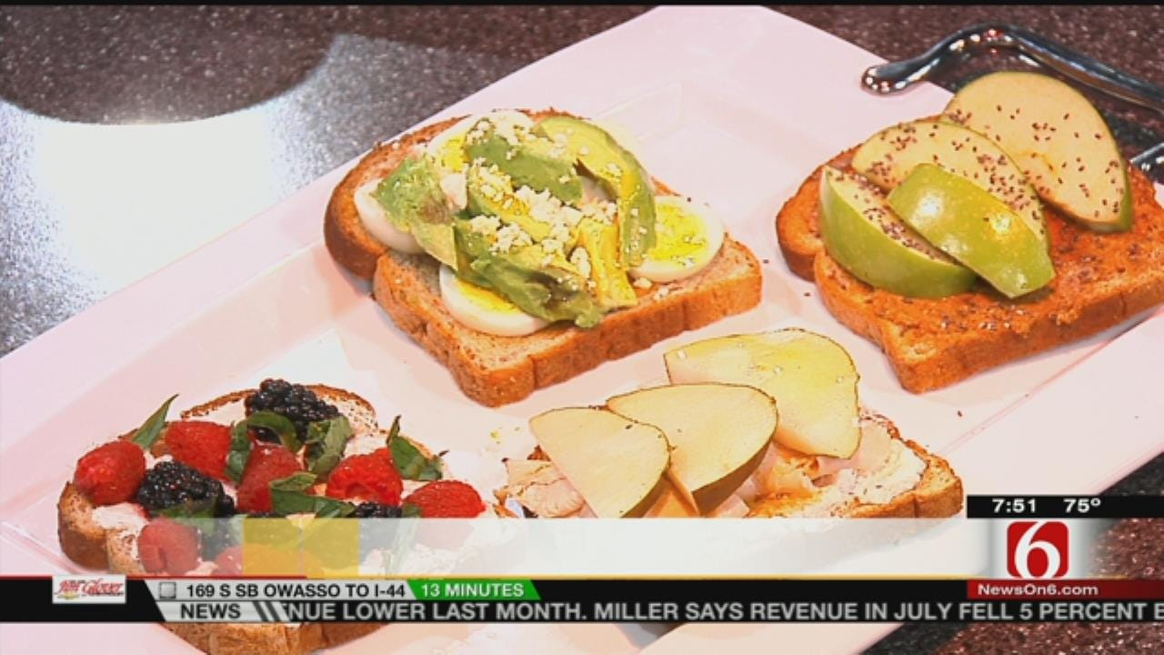 Four Energy Boosting Breakfast Toast Ideas