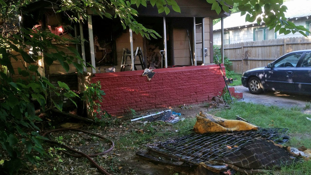 Oil Lamp May Have Sparked Tulsa House Fire
