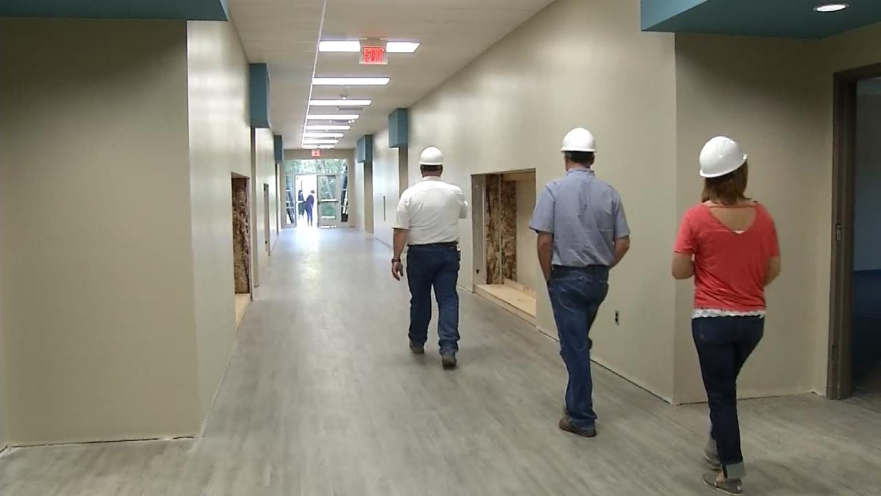 Touring Rejoice Christian's New Owasso Elementary School