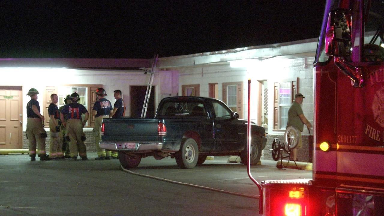 Gas Leak Ignites, Damages West Tulsa Motel