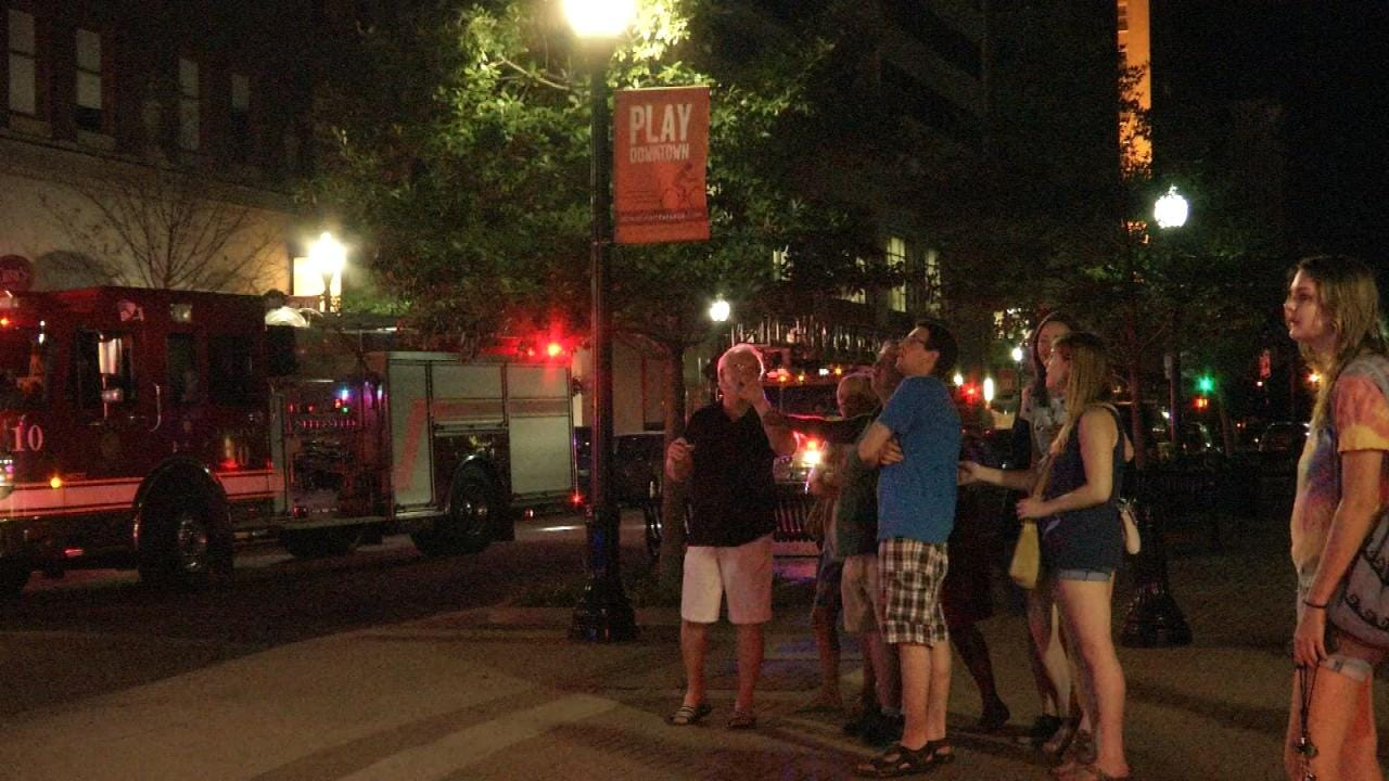 Fire And Sprinkler System Flooding Damage Mayo 420 Building In Downtown Tulsa
