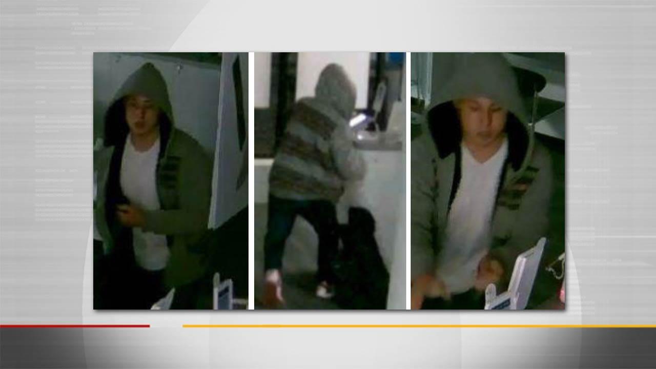 Tulsa Police Release Photos Of iPad Thief