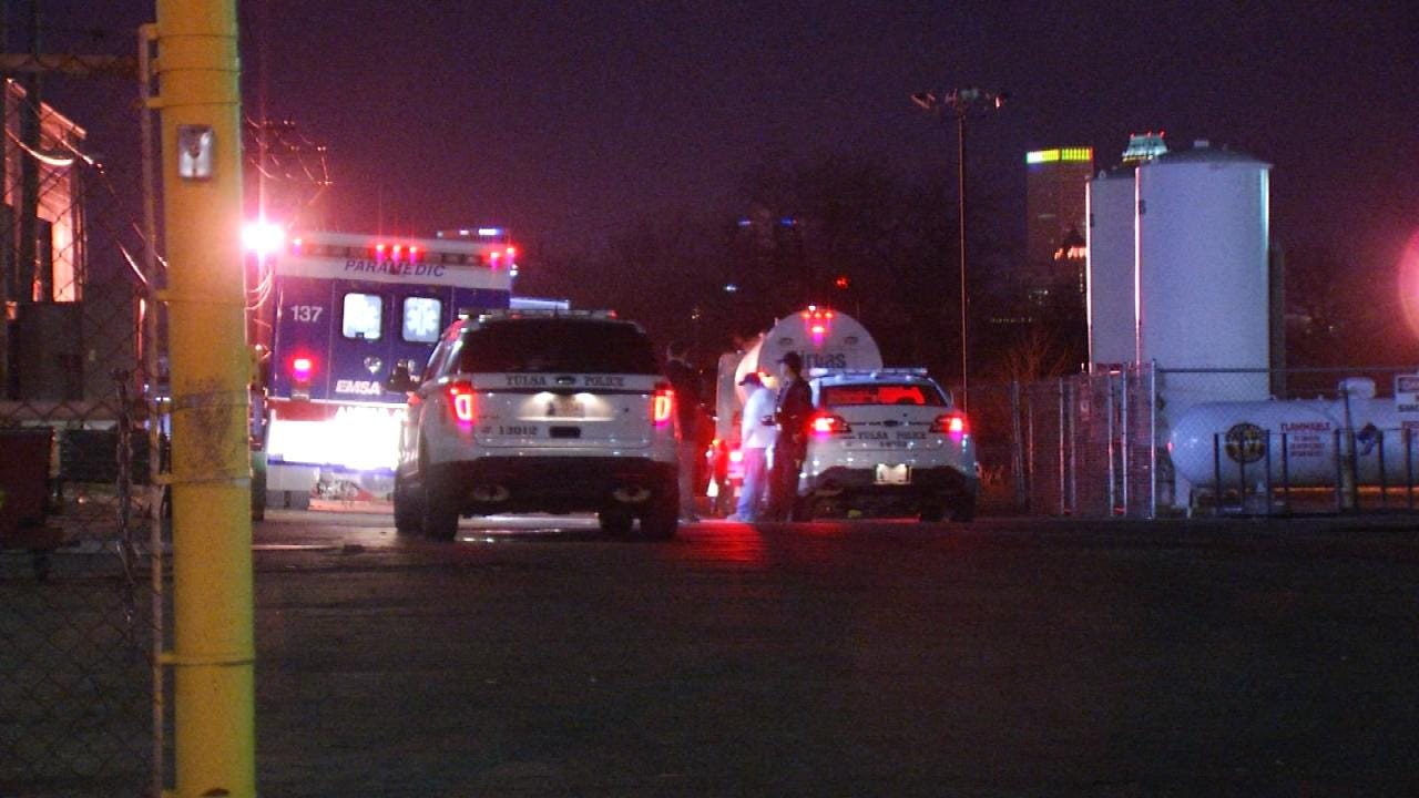 Police: Truck Driver Beaten, Robbed Outside Tulsa Welding School