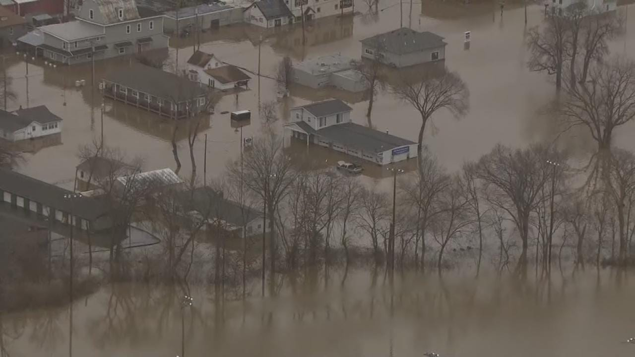 Flooding Causes Travel Issues From Oklahoma To Missouri