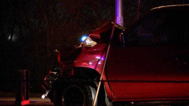 Troopers Say Alcohol Played A Role In Tulsa County Crash