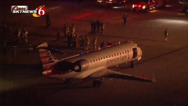 Audio: Controllers, Pilots Calmly Handle Tulsa Emergency Landing