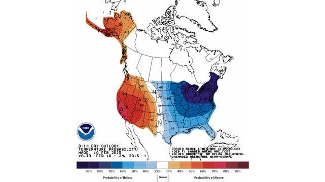 Dick Faurot's Weather Blog: Here Comes Another Shot Of Cold Air
