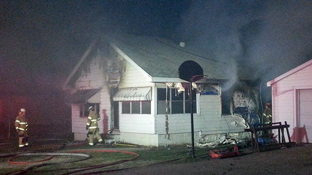 Sand Springs Home Destroyed By Fire