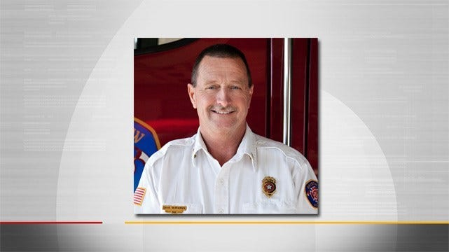 Bristow Fire Chief Survives Fire Truck Explosion