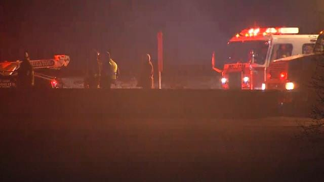 Westbound Lanes Of Turner Turnpike Reopened After Truck Fire