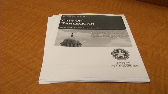 Audit Shows Questionable Spending By City Of Tahlequah Leaders