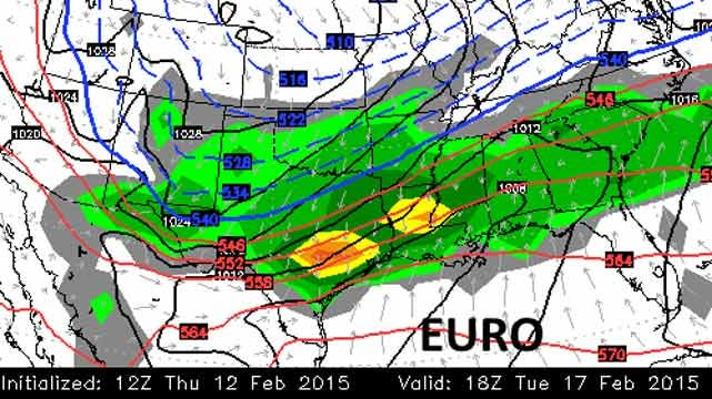 Dick Faurot's Weather Blog: Warmer Friday, Saturday; Wintry Weather Next Week