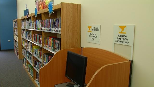 New Tulsa Public Schools Storm Shelter Opens; Others In Works