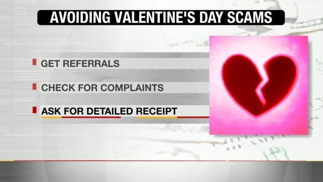 Scammers Break Hearts, Bank Accounts During Valentine's Day