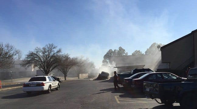 East Tulsa Apartments Evacuated In Chemical Trash Fire