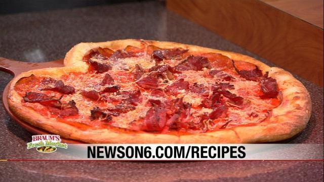 Heart Shaped Pizza - Andolini's