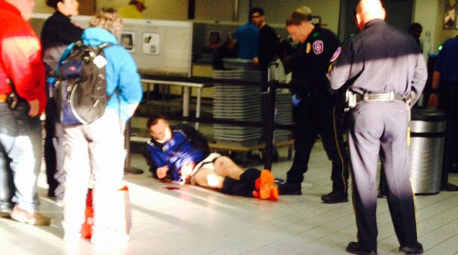 Tulsa Deputies Shoot Inmate Who Reportedly Attacked Them In Dallas Airport