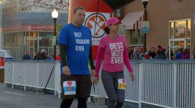 Sweetheart Run Held In Downtown Tulsa