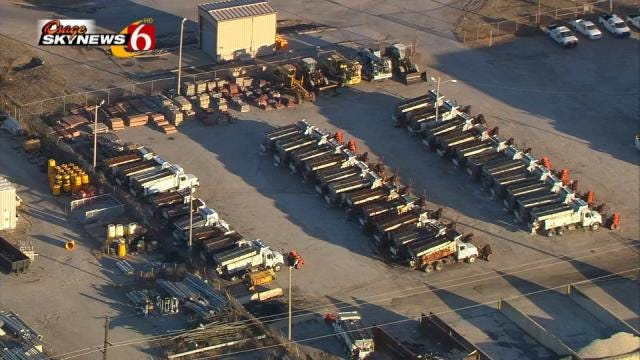 City Of Tulsa Says Street Crews Ready For Possible Ice And Snow