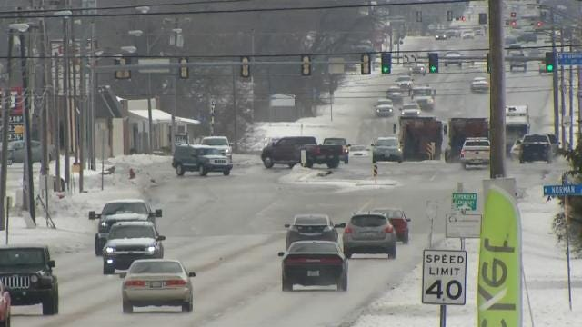 Broken Arrow Residents Pleasantly Surprised By Driving Conditions