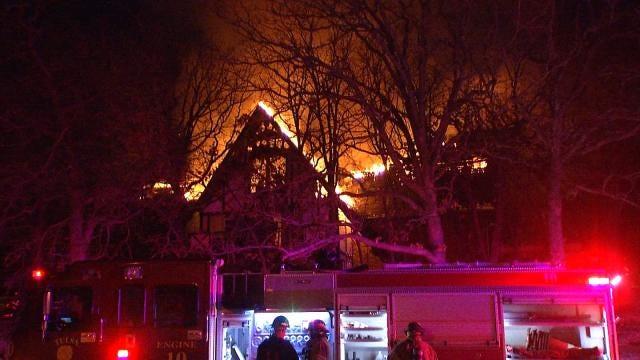 Tulsa Family Escapes House Fire