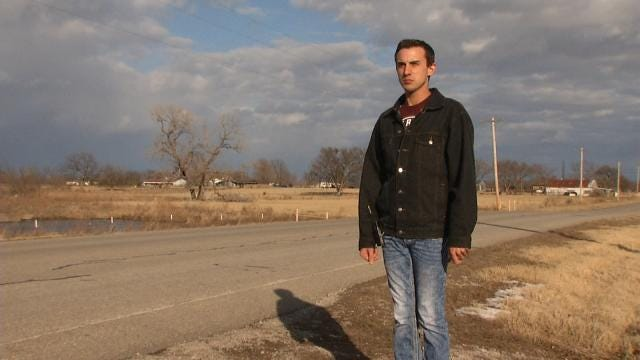 After Wrecking Car, Dewey Man Advocates Against Texting While Driving