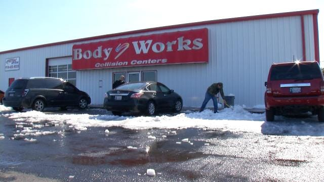 Tulsa Body Shops Seeing More Work Thanks To Slick Roads
