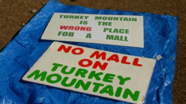 Tulsa Mardi Gras Float Protests Turkey Mountain Mall