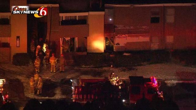 Explosion Forces Evacuation At East Tulsa Apartment Complex