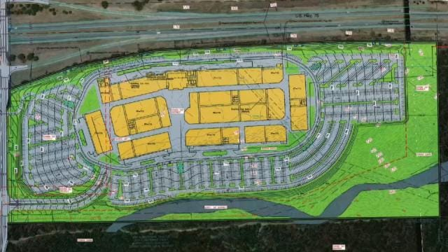 Designs Discussed For Proposed Mall Near Turkey Mountain