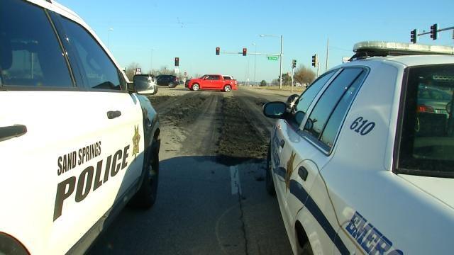 Dump Truck Splashes Sewage On Depew Woman's Car