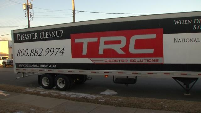 Tulsa Business Sending Trucks, Workers To Help With Boston Cleanup