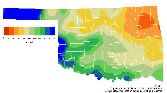 Dick Faurot's Weather Blog: A Dry January; Outlook For February