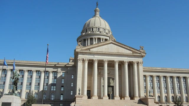 Oklahoma Governor To Present 'State Of The State' At Start Of Legislative Session