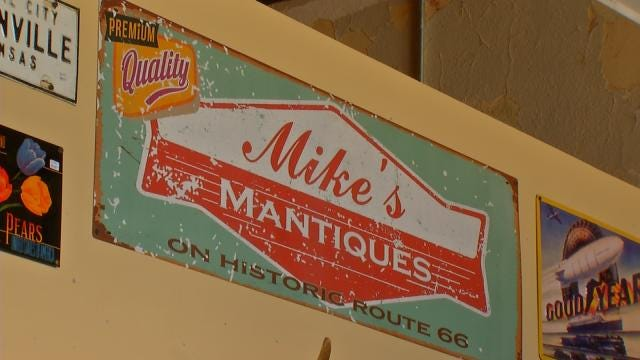 Tulsa Shop Specializes In 'Mantiques'