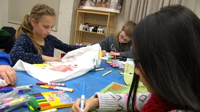 Youth Groups Create Something Special For Children Entering OK Foster System