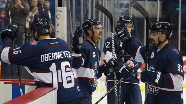 Caig Leads Oilers To Victory Over Wichita