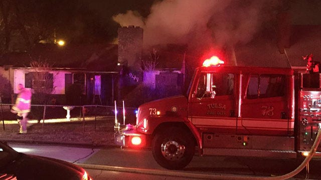 Man Dies In North Tulsa Fire