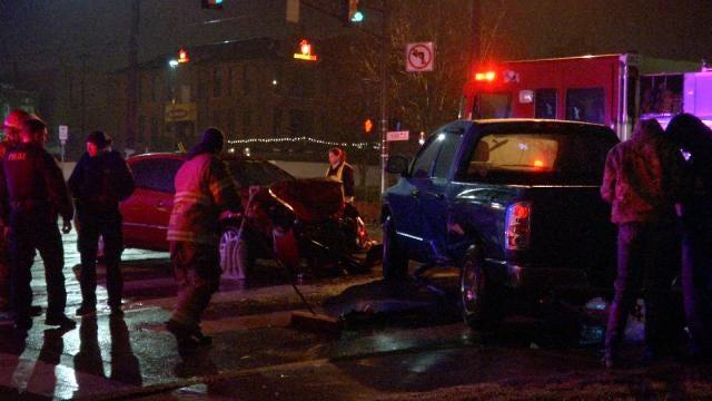 Two Injured In Tulsa Cherry Street Crash