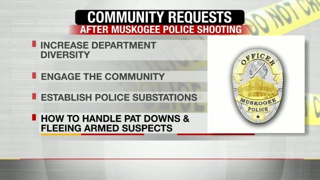 After Shooting, Muskogee Police Working To Implement Pastors' Suggestions