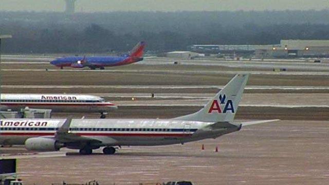 Dallas Winter Storm Cancels Dozens Of Flights Between Tulsa And Dallas