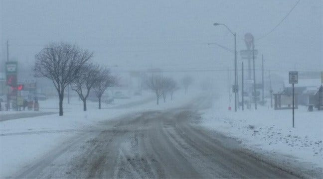 McAlester Area Pounded By Second Round Of Winter Weather