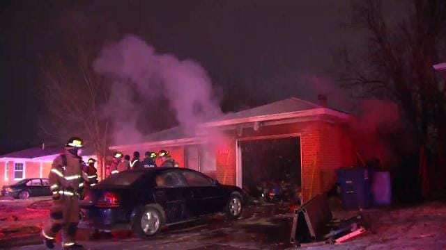 Cause Of Northeast Tulsa House Fire Under Investigation
