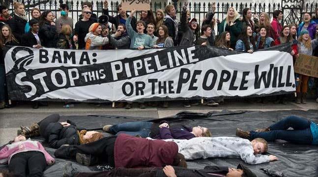Obama Vetoes GOP-Backed Bill Approving Keystone Oil Pipeline