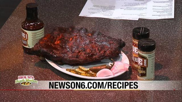 Oklahoma Joe's Barbecue Beef Ribs
