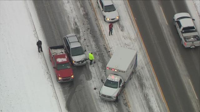 Osage SkyNews 6 HD Flies Over Creek County Highway Crash